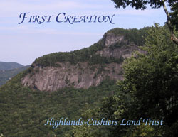 Book Cover Image. Title: First Creation: 100 Years of Land Conservation, Author: Highlands-Cashiers Land Trust