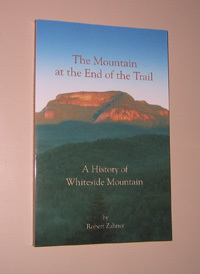 Book Cover Image. Title: The Mountain at the End of the Trail, Author: Robert Zahner